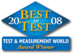Best in Test - Test & Measurement World - Award Winner